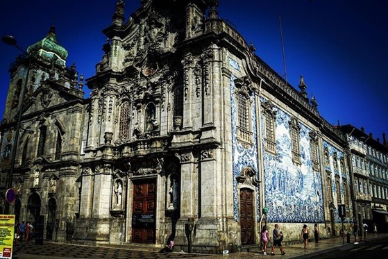 Igreja do Carmo, Porto, Portugal via Instagram