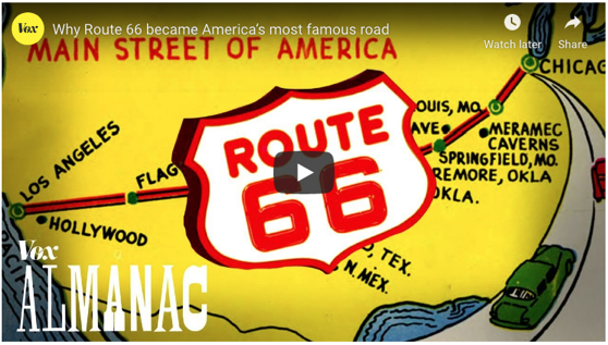 Why Route 66 became America's most famous road via Vox