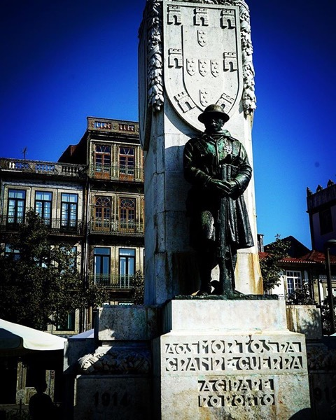 The Great War Memorial, Porto, Portugal via Instagram