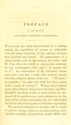 Historical Cooking Books - 38 in a series - A new system of domestic cookery (1850) by  Maria Eliza Ketelby Rundell