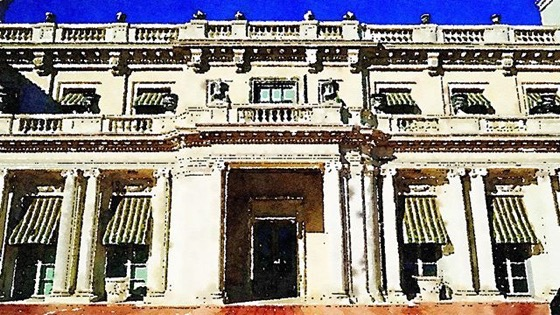 Huntington House, Huntington Library and Gardens, Pasadena, California via Instagram