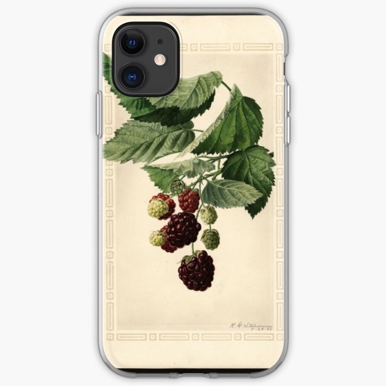 Holiday Gift Guide 2019 03: Vintage Bramble Print iPhone Case