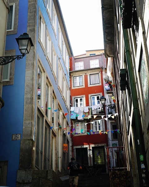 Lovely Street Scene, Porto, Portugal via Instagram