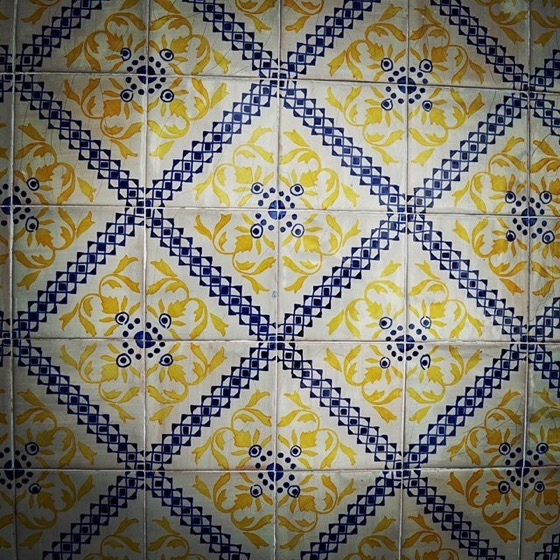 Ceramic Tile Pattern, Porto, Portugal via Instagram