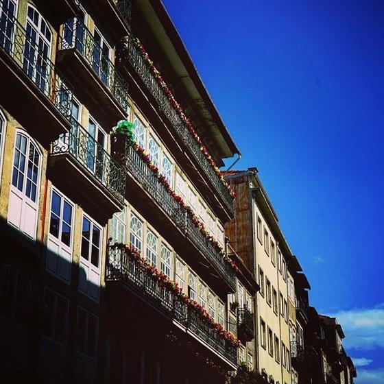 Rua das Flores, Porto, Portugal via Instagram