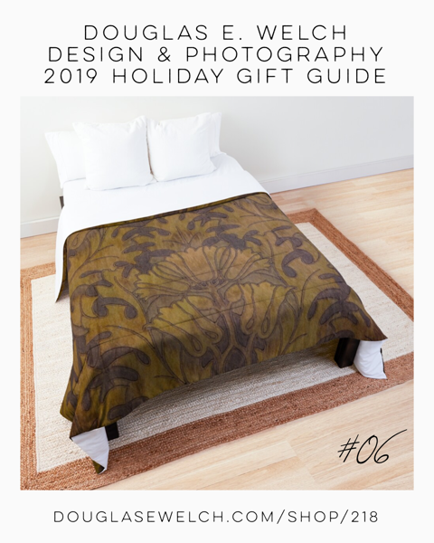 Holiday Gift Guide 2019 06: Victorian Era Wallpaper Comforters And More [For Sale]