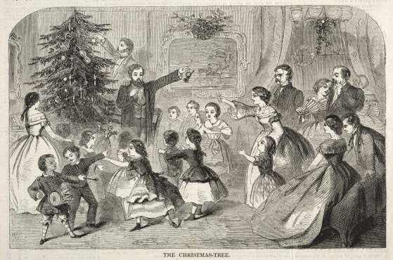 Christmas Past - 23 in a series - The Christmas Tree by Winslow Homer