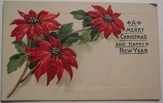Christmas Past - 14 in a series - Vintage Christmas Tag via Dave on Flickr