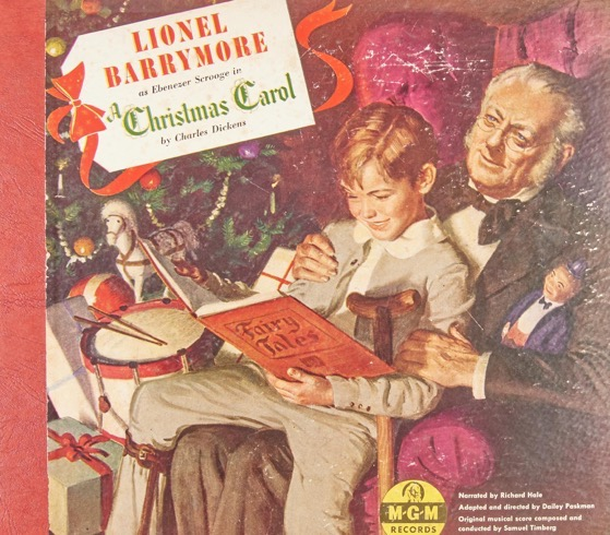 Christmas Past – 4 in a series – A Christmas Carol (1947), Performed by Lionel Barrymore; Richard Hale [Audio]