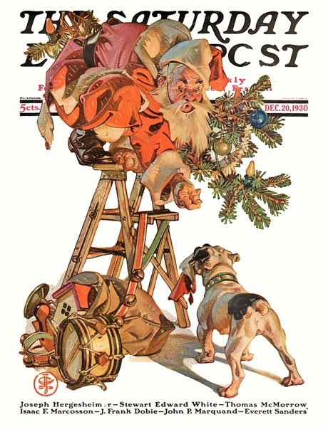 Saturday Evening Post 1930 12 20