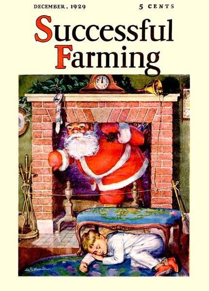 Christmas Past – 24 in a series – Successful Farming 1929-12