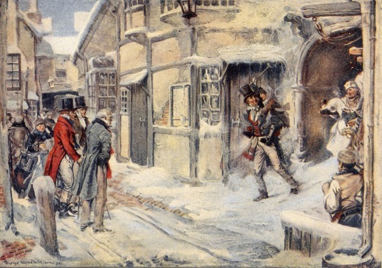 Christmas Past - 6 in a series - A Christmas Carol by Charles Dickens (FREE) via the Gutenberg Project