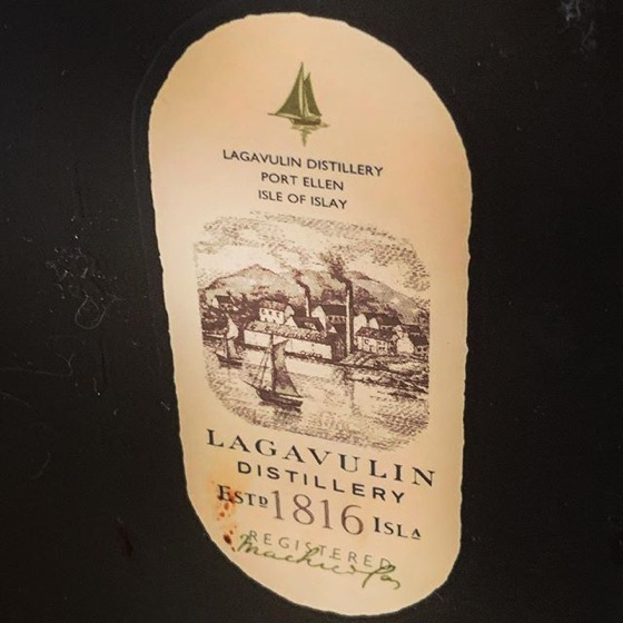 Lagavulin 16 via Instagram