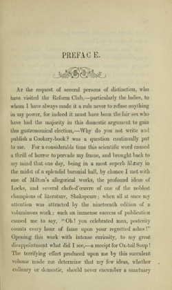Historical Cooking Books - 46 in a series - The gastronomic regenerator (1849)