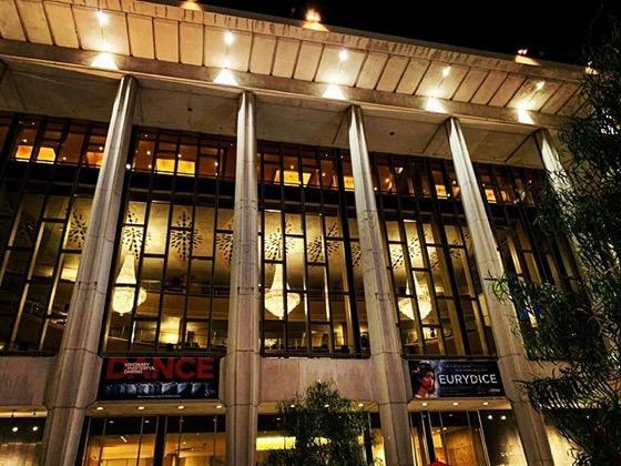 My Los Angeles 88: Music Center At Night via Instagram