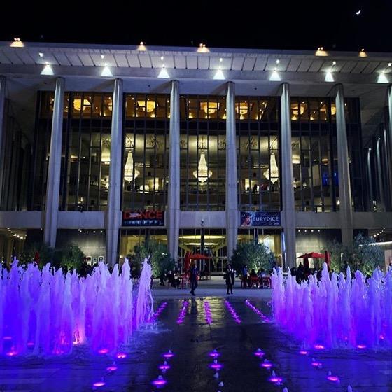 My Los Angeles 91: Music Center At Night via Instagram