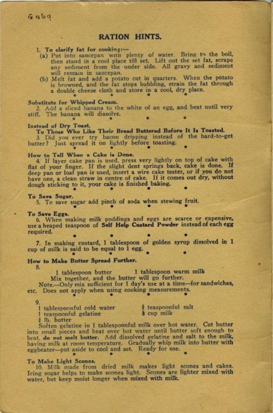 Self Help Wartime Cooking Suggestions  with correction 0001