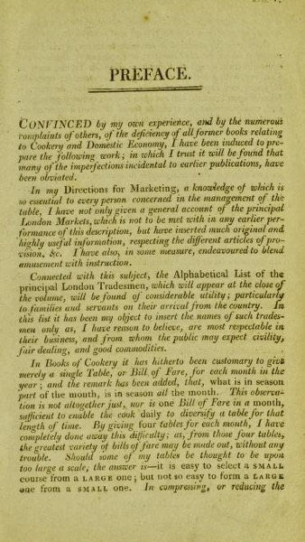 Historical Cooking Books - 51 in a series - The new London family cook; or town and country housekeeper's guide by Duncan MacDonald (1808)