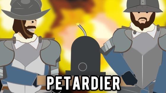 Home School: Petardier – The Most Dangerous Job in History? via Simple History on YouTube
