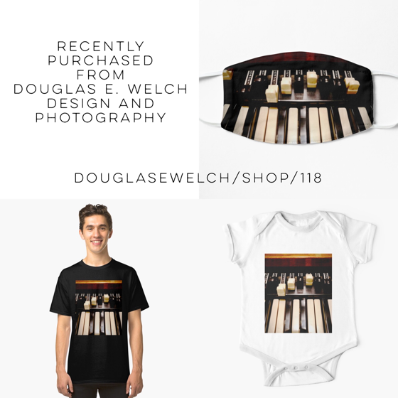 Hammond B3 Organ Clothing — Recently Purchased From Douglas E. Welch Design and Photography [For Sale]