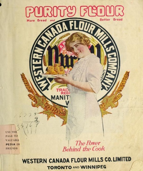 Historical Cooking Books - 54 in a series - Purity Flour Cookbook (1917)