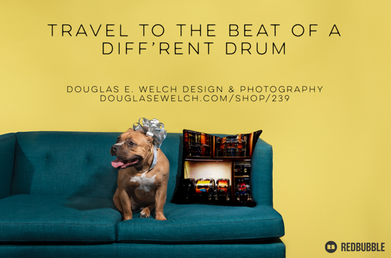 Travel To The Beat Of A Diff'rent Drum With These Snare Drum Throw Pillows And More! [For Sale]