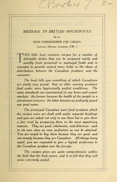 Historical Cooking Books - 56 in a series - The Maple Leaf Canadian Recipe Book By Kathleen K. Bowker