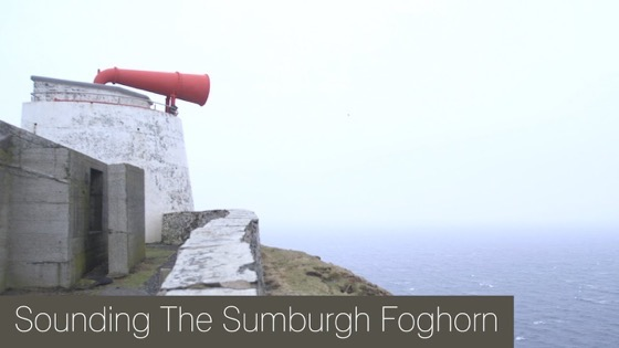 Sounding the Sumburgh Foghorn via JJJamieson via YouTube