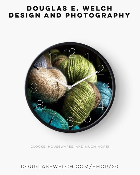"Are you ""Dreaming of Knitting""? Share Your Dreams With These Products Exclusively From Douglas E. Welch Design and Photography [For Sale]"
