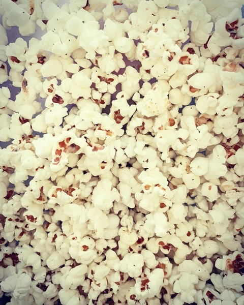 Homemade Popcorn via Instagram