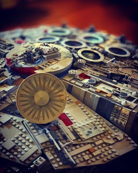 LEGO Millenium Falcon via Instagram