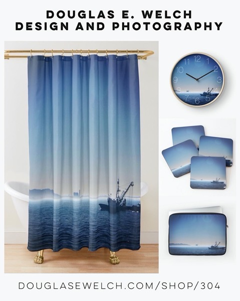 New Design: Go Out To Sea With These Fishing The Channel, Ventura, California Products Exclusively from Douglas E. Welch Design and Photography [For Sale]