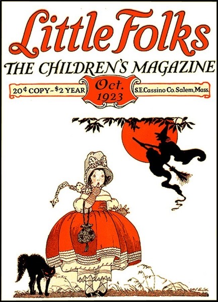 Halloween 2020 – 11 in a series – Little Folks Halloween Cover (1923)