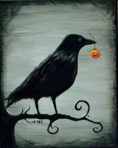 Halloween 2020 - 15 in a series - Halloween Raven