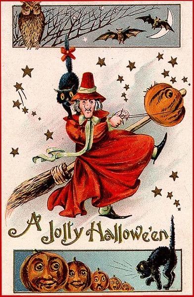 Halloween 2020 - 23 in a series - A Jolly Halloween