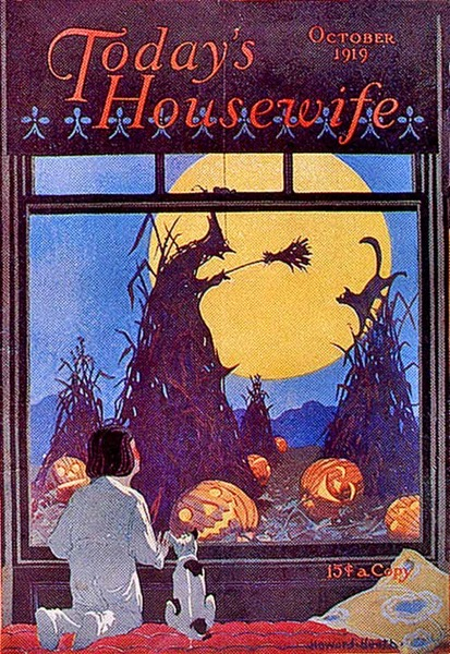 Halloween 2020 - 5 in a series - iToday's Housewife (1919)