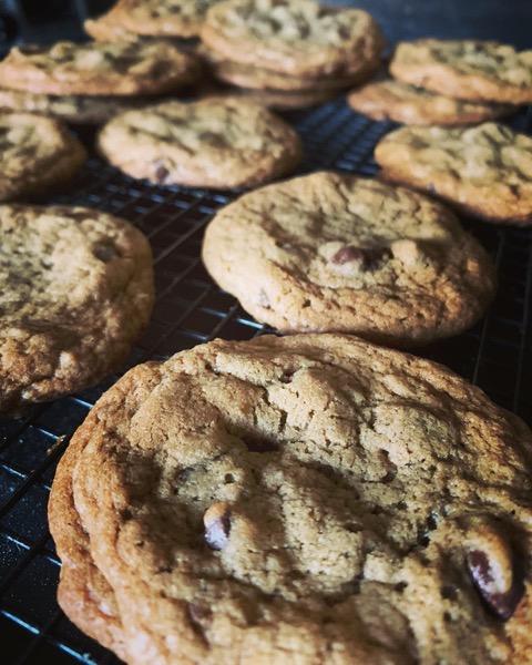 Chocolate Chip Cookies! via Instagram