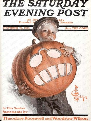Halloween 2020 - 21 in a series - Saturday Evening Post (1912)