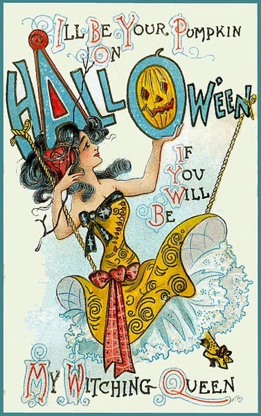 Halloween 2020 – 50 in a series – Vintage Halloween Greeting Card