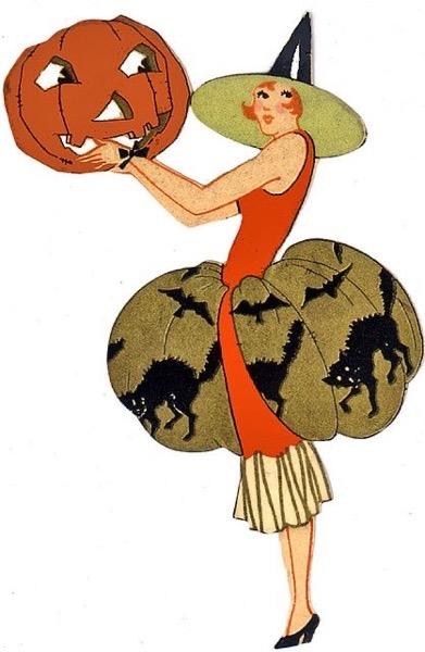 Halloween 2020 - 51 in a series - Vintage Halloween Art