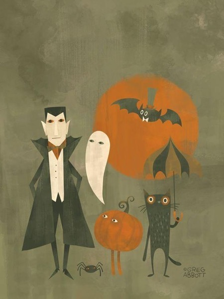 Halloween 2020 – 33 in a series – Drac, Cat and Bat