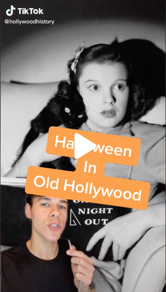 Halloween 2020 – 50 in a series – Halloween in Old Hollywood via Hollywood History on TikTok [Video]