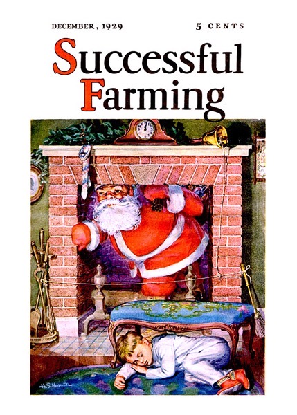 Order Now! Vintage Successful Farming Magazine Cover (1929) Christmas Cards from Douglas E. Welch Design and Photography [For Sale]