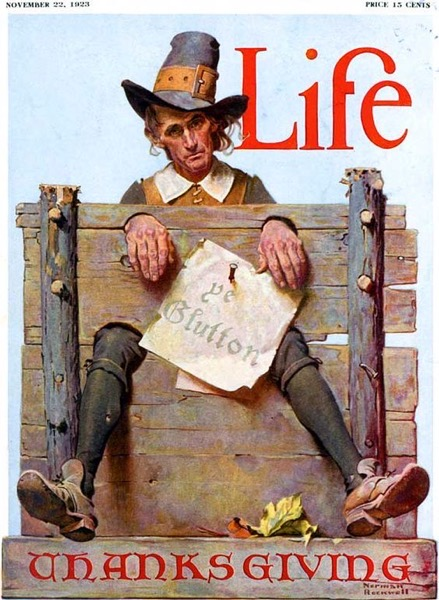 Thanksgiving 2020 - 24 in a series - Life Magazine Thanksgiving Cover (1923)