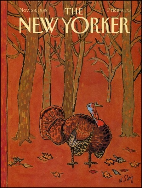 Thanksgiving 2020 - 21 in a series - The New Yorker Thanksgiving Cover (1988)