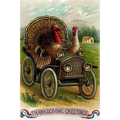 Thanksgiving 2020 - 1 in a series - Motoring To Thanksgiving