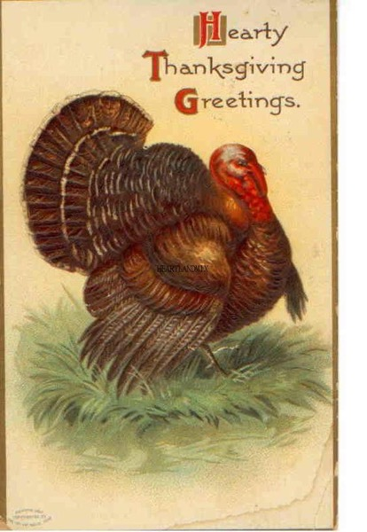 Thanksgiving 2020 - 26 in a series - Hearty Thanksgiving Greetings