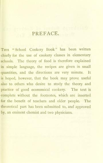 Historical Cooking Books - 67 in a series - The school cookery book (1879) by C. E. Guthrie Wright