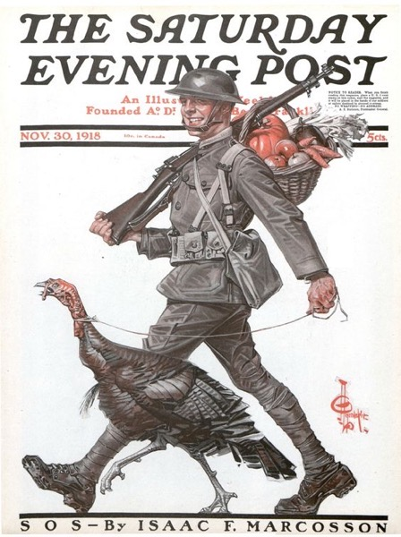 Thanksgiving 2020 - 23in a series - A Doughboy Thanksgiving (1918)