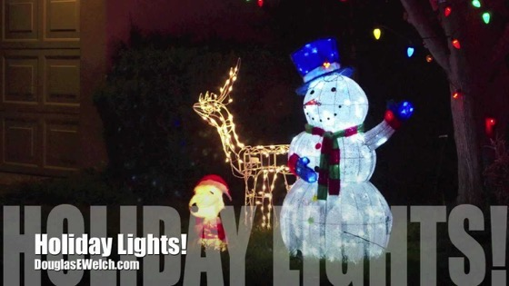 Christmas 2020 - 4 in a series - Holiday Lights 2012 [Video]
